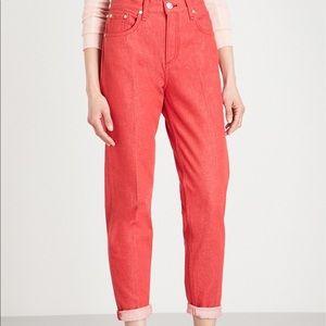 rag & bone Jeans - SALE! NWT rag & bone red jeans